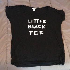 Little black tee shirt